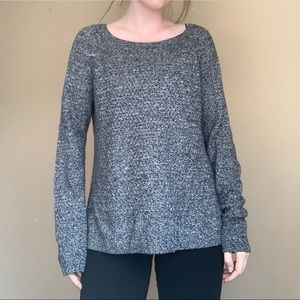 American Eagle Gray Knit Sweater